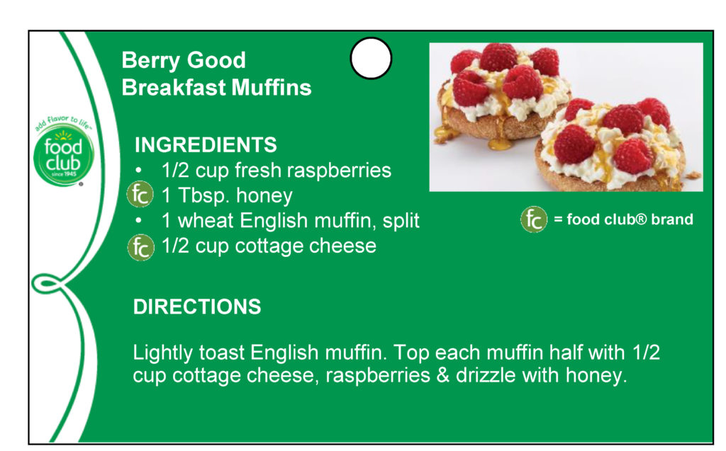Berry Good Breakfast Muffins Recipe