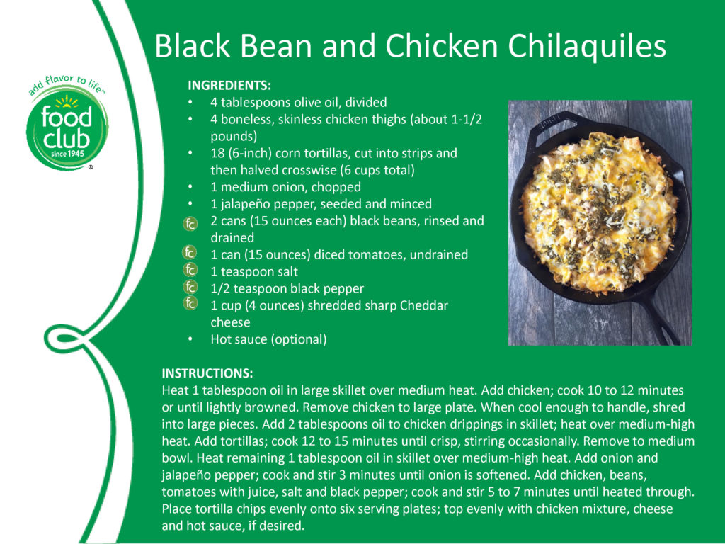Black Bean And Chicken Chilaquiles Recipe