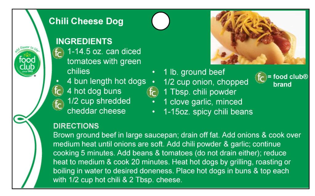 Chili Cheese Dog Recipe