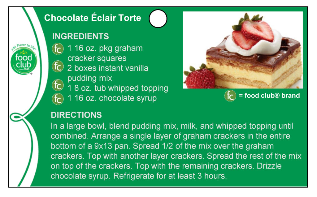 Chocolate Eclair Torte Recipe