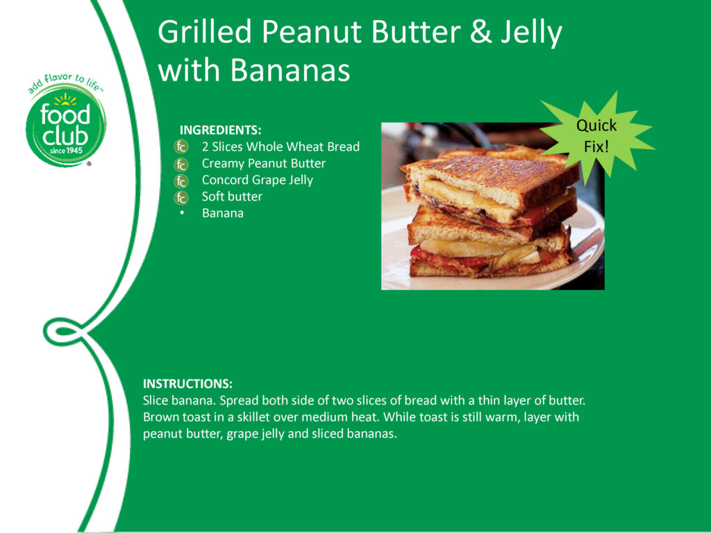 Grilled PBJ With Bananas Recipe