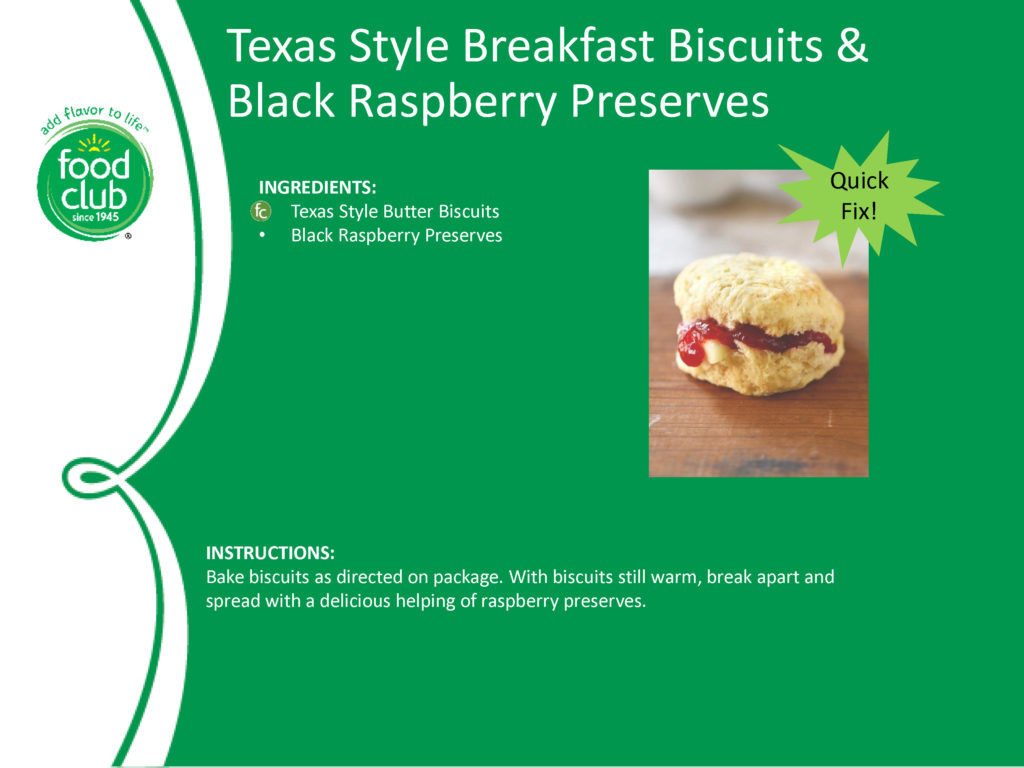 Texas Style Breakfast Biscuits & Black Raspberry Preserves Recipe
