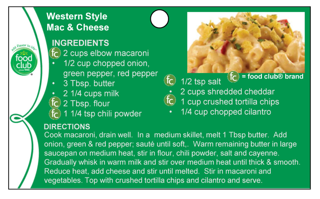 Western Style Mac & Cheese Recipe