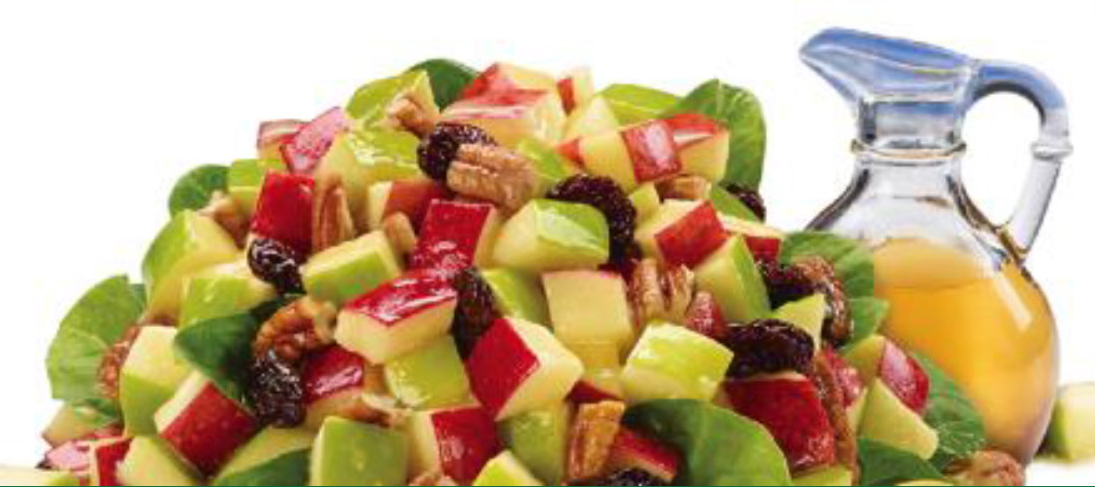 Apple Orchard Spinach Salad