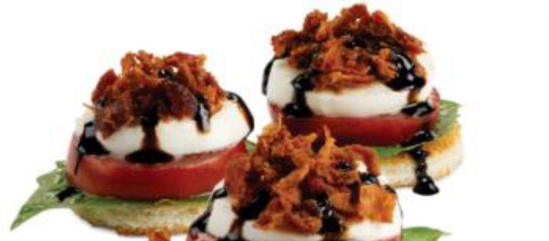 Bacon Caprese Appetizers