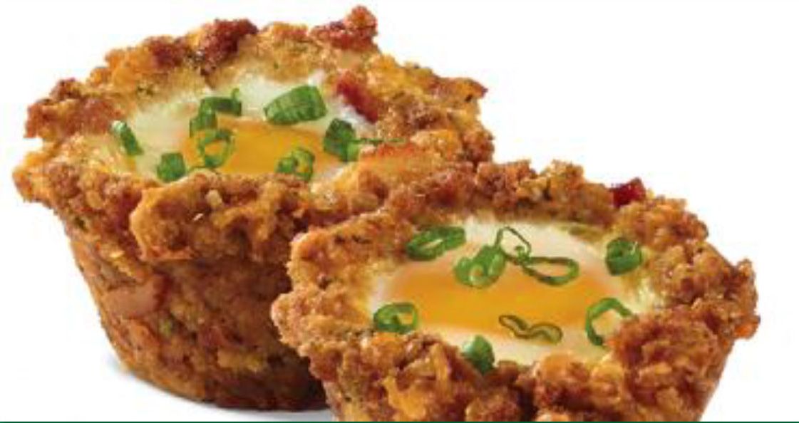 Breakfast Stuffing Cups