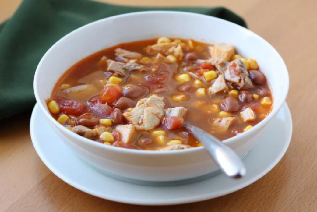 Chicken And Red Bean Soup