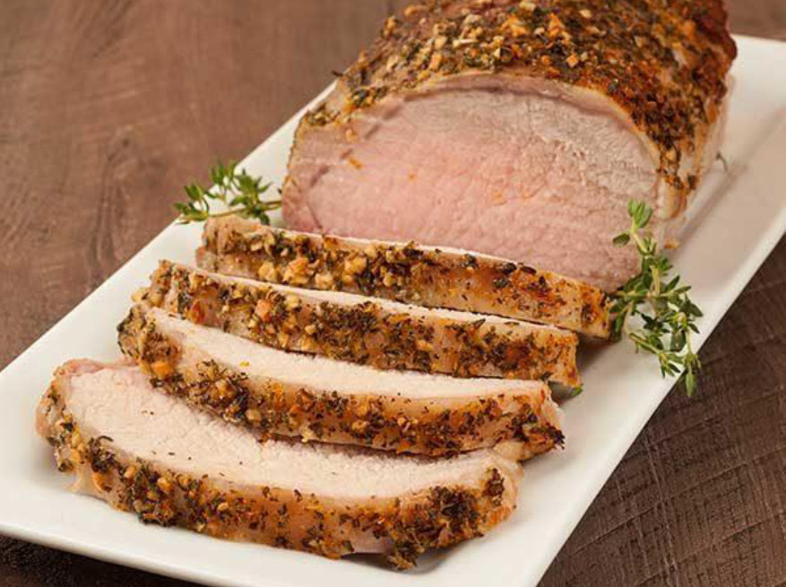 Herb-Seasoned Roast Pork Loin