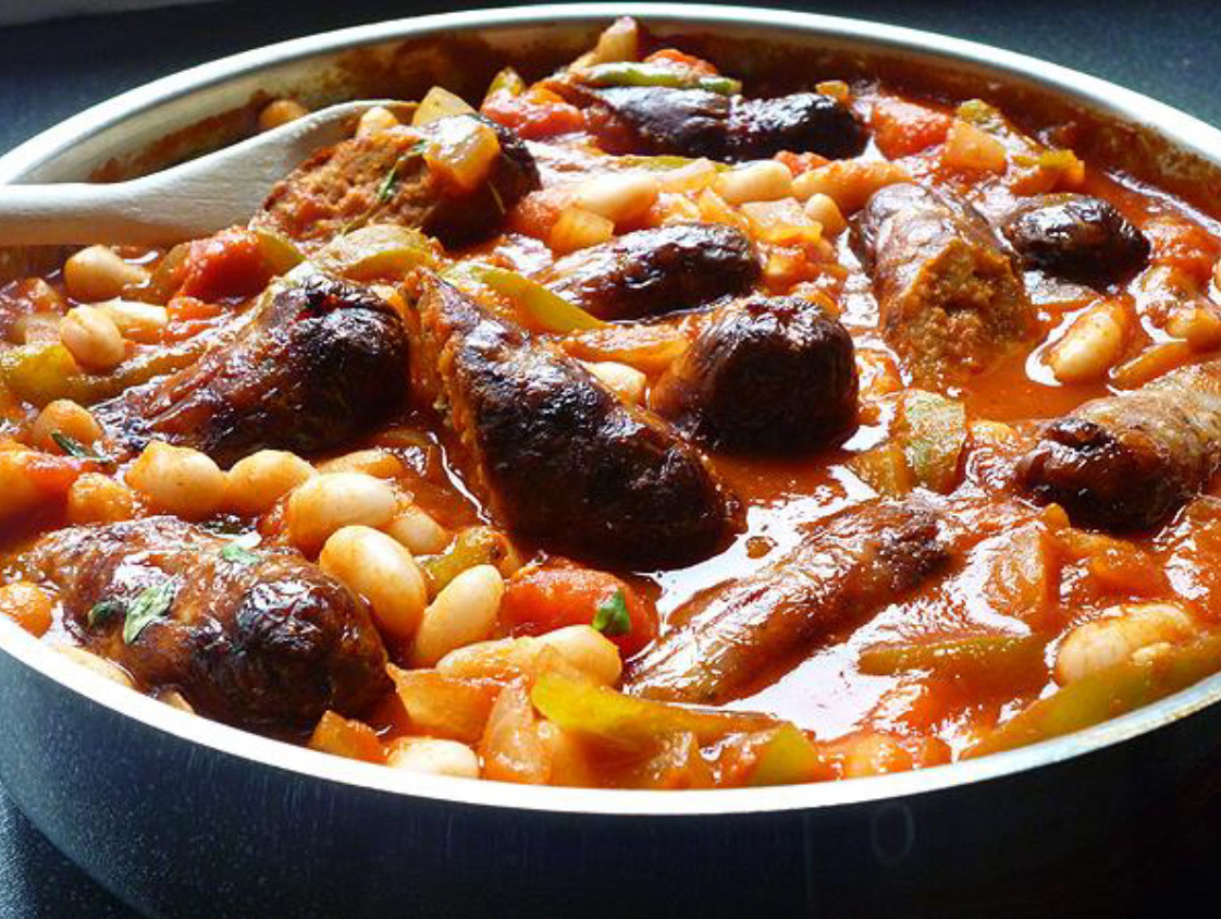 Italian Stew With Beans And Sausage