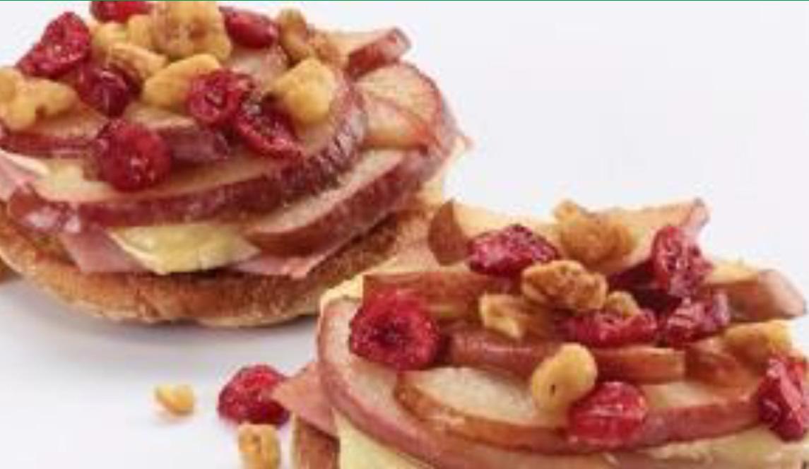 Pear, Ham & Brie Muffins