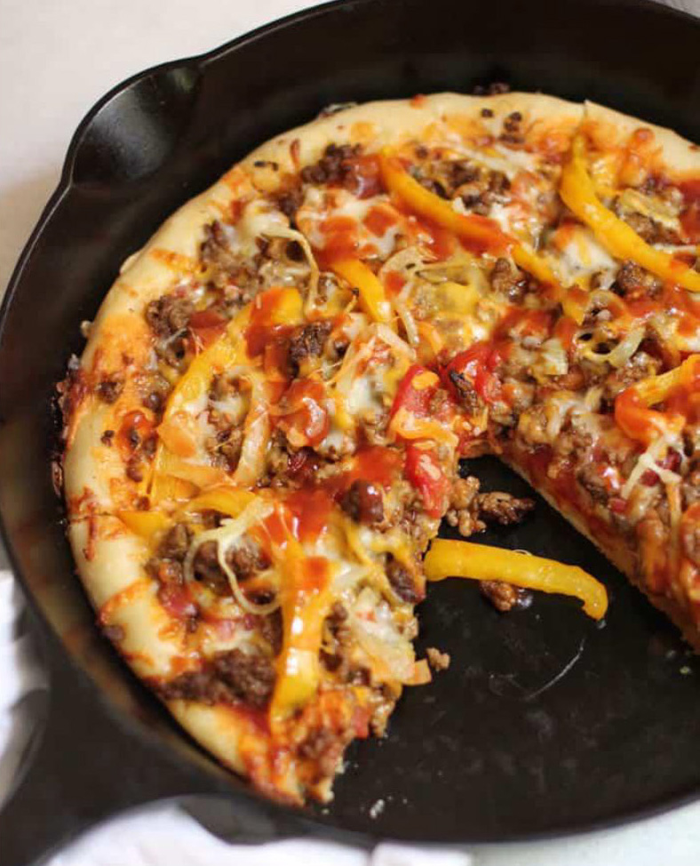 Quick Nacho Pizzas