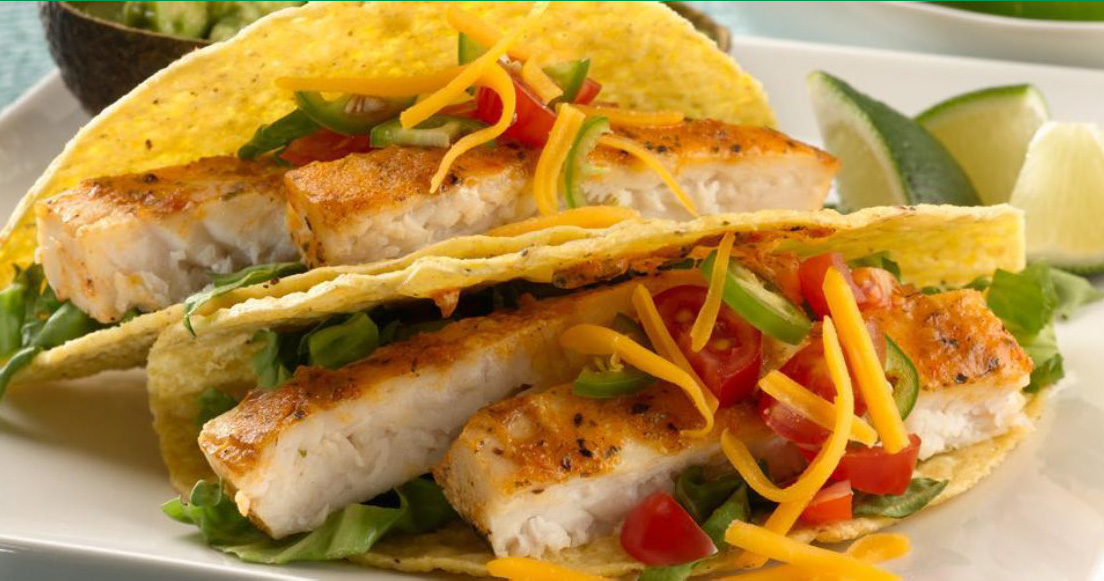 Southwest Seafood Tacos