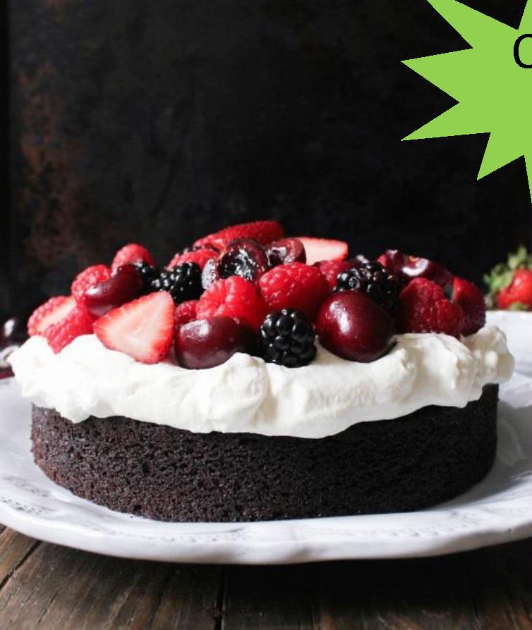 Very Berry Chocolate Cake